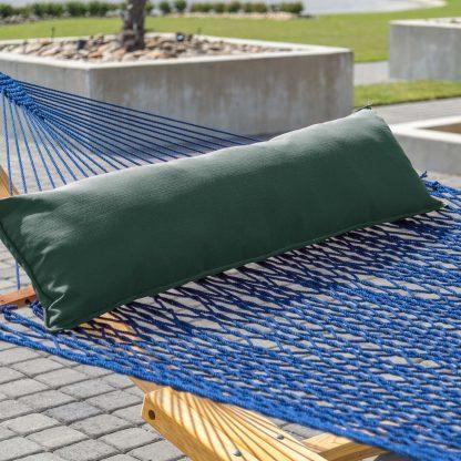 Long Hammock Pillow - Green