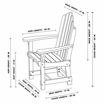 Essentials Dining Chair with Arms