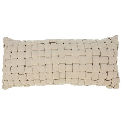 Soft Weave Pillow- Antique Beige