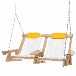 Coastal Cedar Double Rope Swing