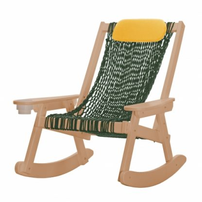 Coastal Rope Cedar Rocker