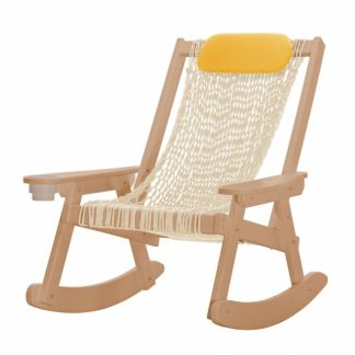 Coastal Rope Cedar Rocker