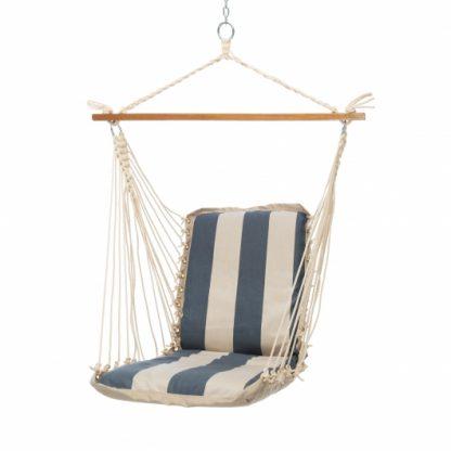 Cushioned Single Swing - Regency Indigo